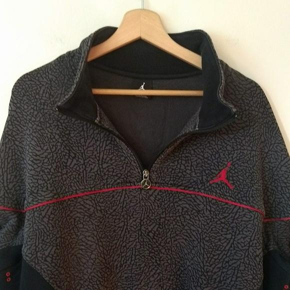 3fe0b0536ca Jordan 1/4 Zip Pullover Sport Jacket XXL. M_5b49533d4ab633755d3e8438